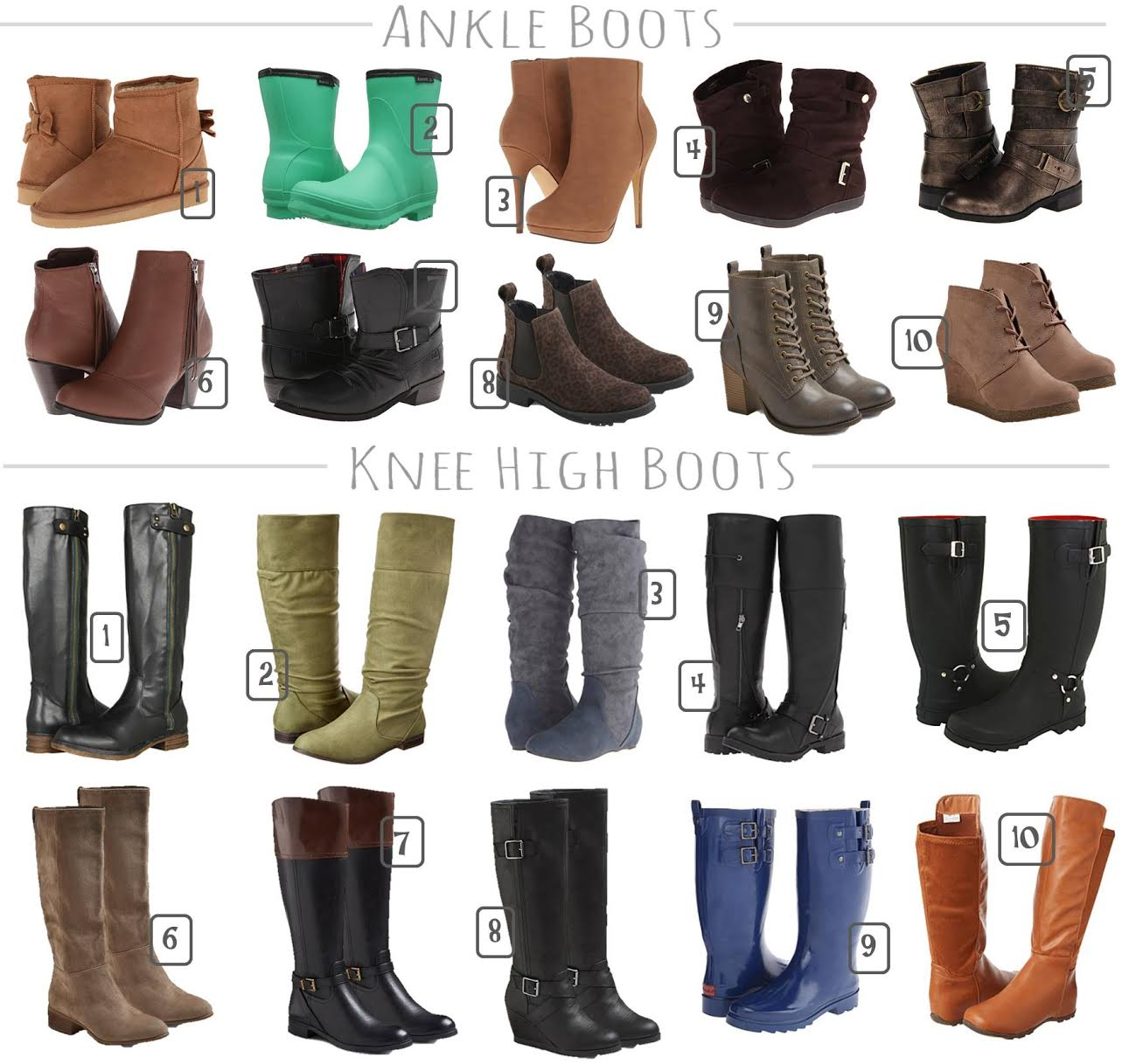 20 Fall Boots Under $35 from Target & 6pm