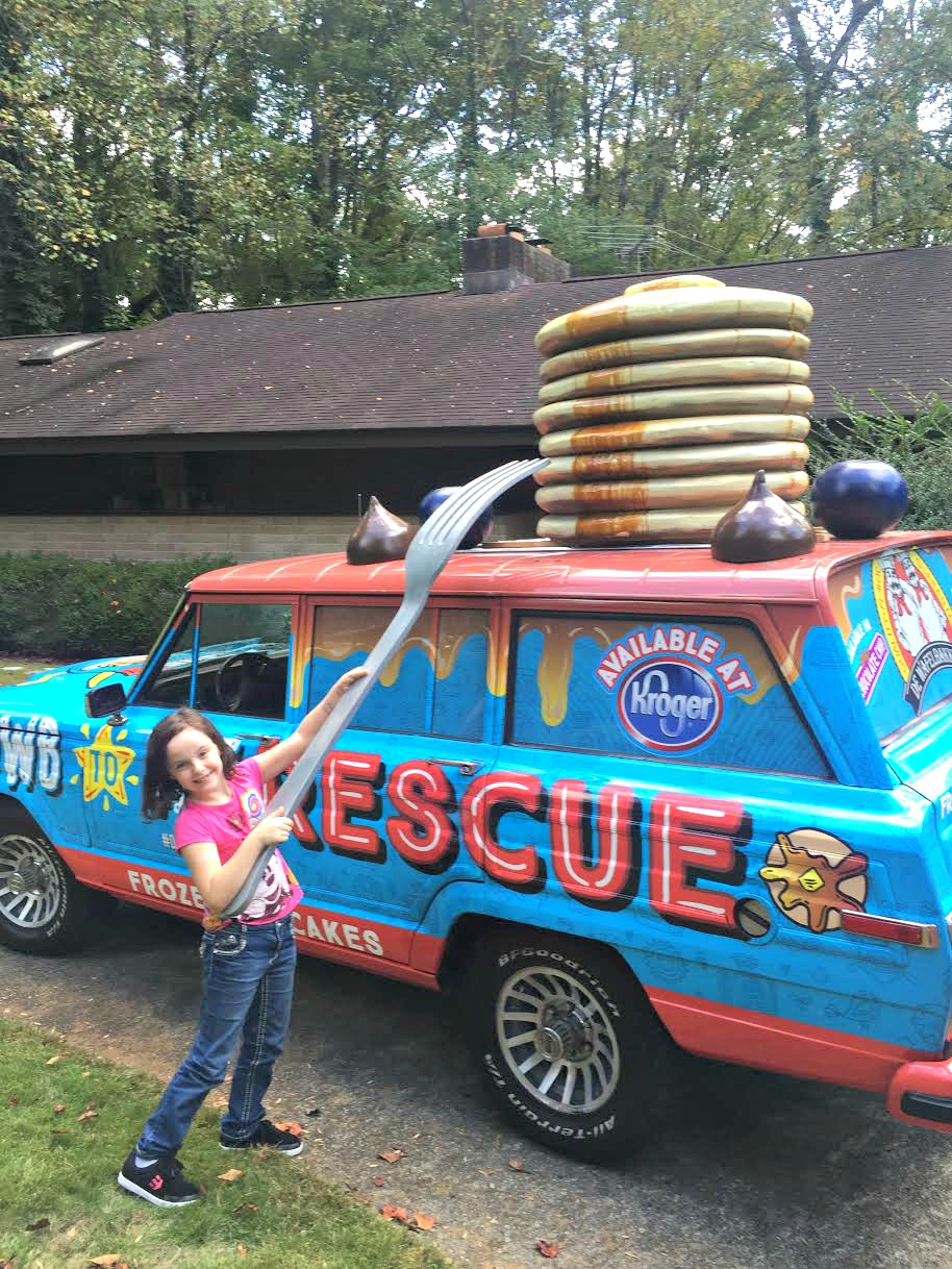 Get the De Wafelbakkers Pancake Mobile to Your House! #DWBpancakes