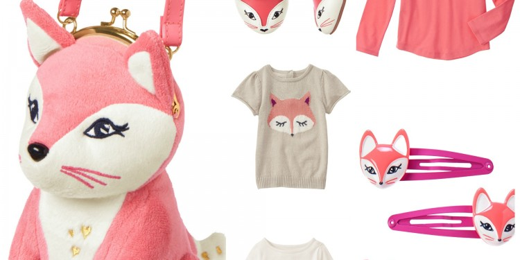 Fabulous Fox Clothing for Girls from Gymboree