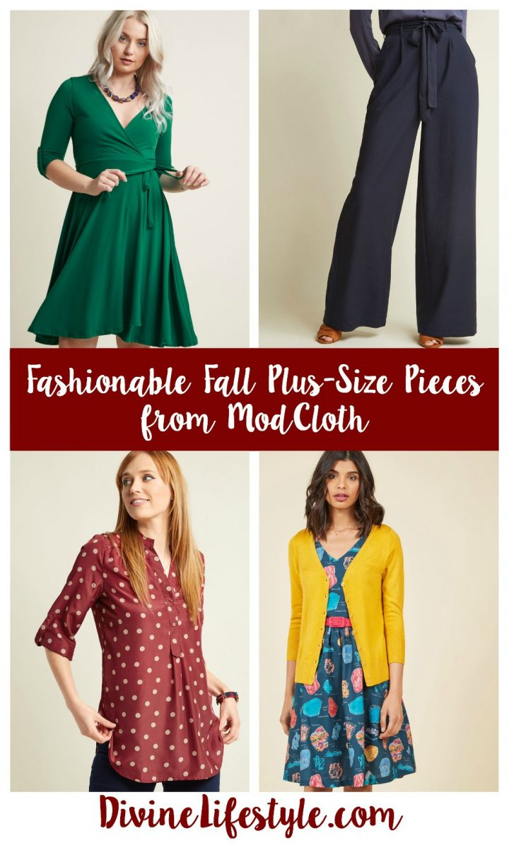 Fashionable Fall Plus-Size Pieces from ModCloth
