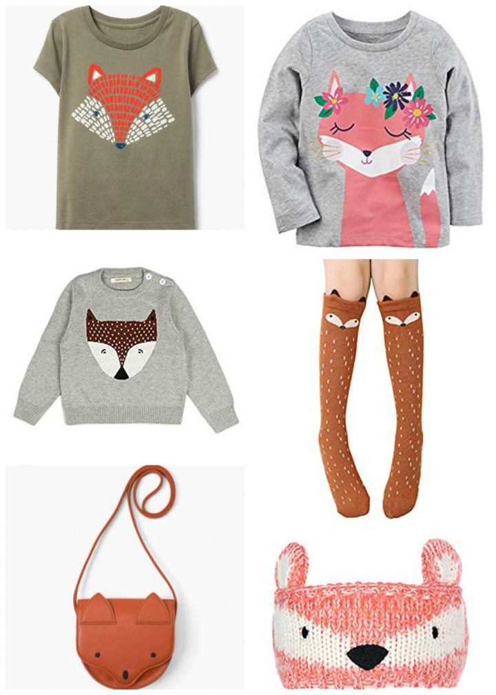 Fun Fox Clothes for Girls