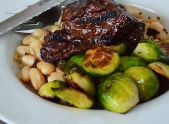 Garlic Red Wine Steak Tips 4