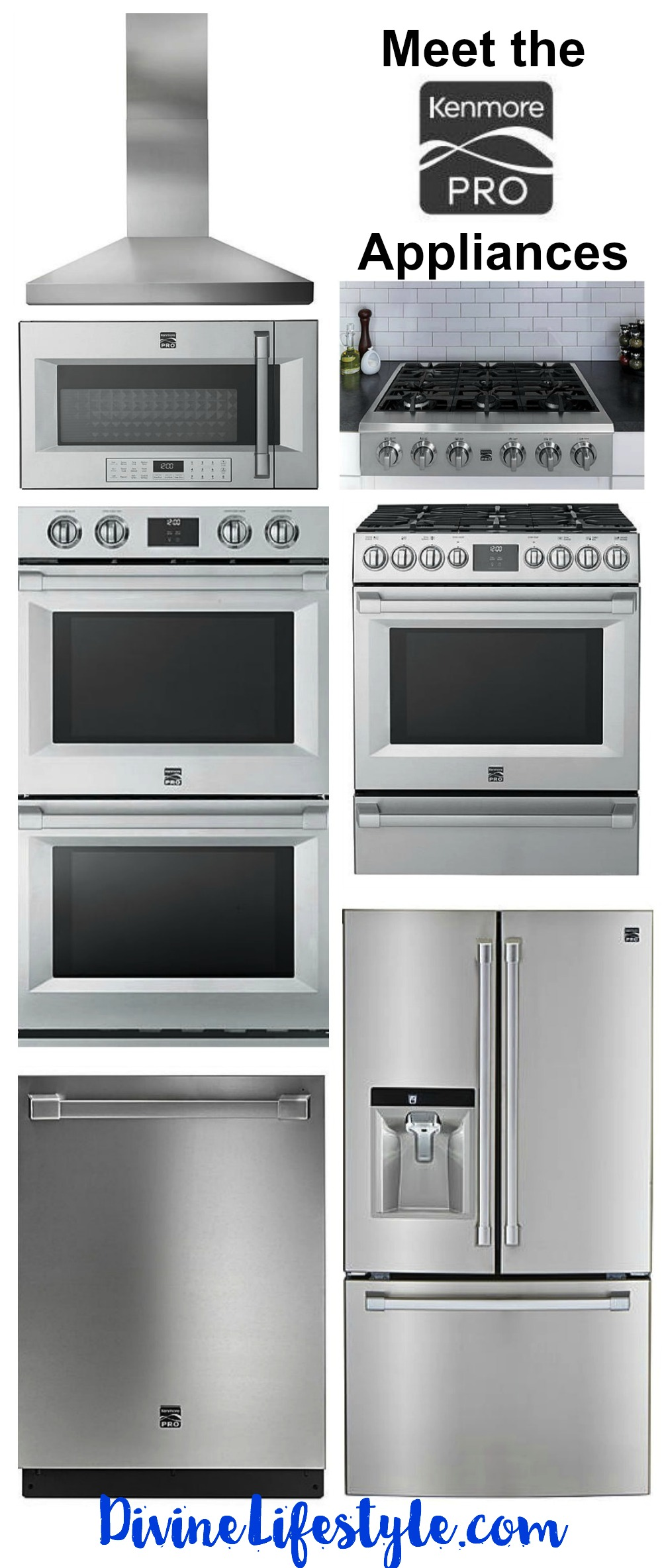 charming Kenmore Kitchen Appliances Reviews #4: Meet The Kenmore PRO Appliances | Divine Lifestyle