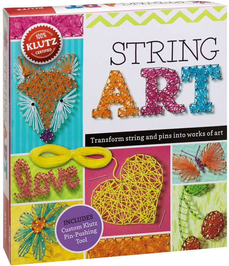Handmade for the Holidays: String Art from Klutz {GIVEAWAY} #KLUTZhandmade