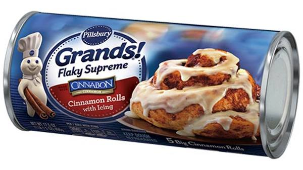 PIllsbury Grands Flaky Supreme Cinnabon Cinnamon Rolls with Icing How to Make Sundays Even Better #CinnamonRollSaturday