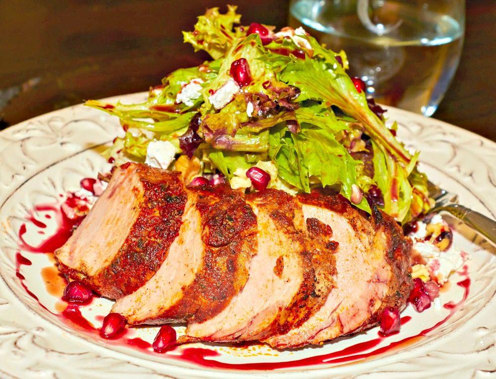 Pomegranate Pork Plate1