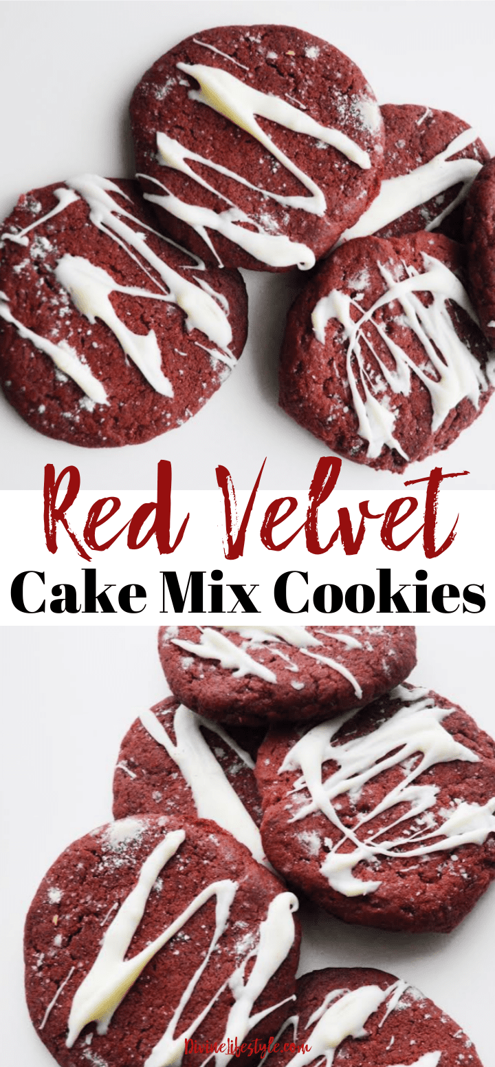 Red Velvet Cake Mix Cookies Recipe