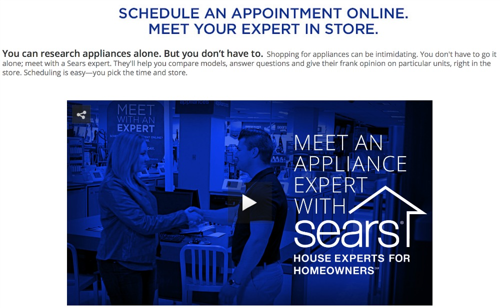 Sears Meet With an Expert 1