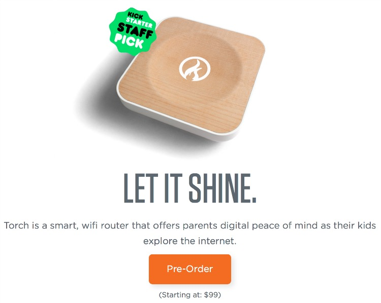 Torch: A Router for Digital Parenting