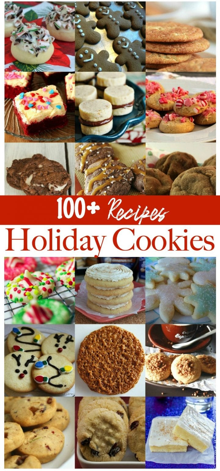 Ultimate List of 100+ Holiday Cookies Recipes