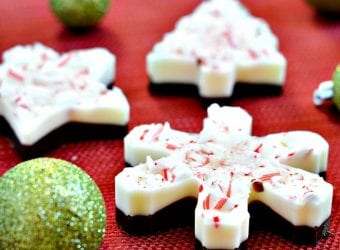Cookie Cutter Peppermint Cookie Bark