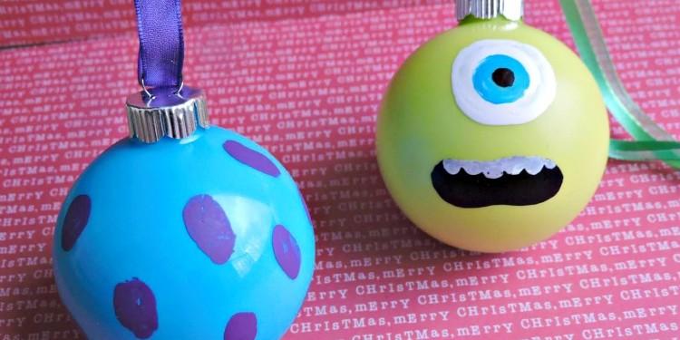 Monsters Inc. Christmas Ornaments 1