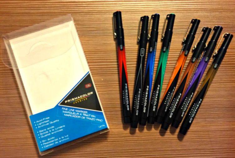 Prismacolor Pens