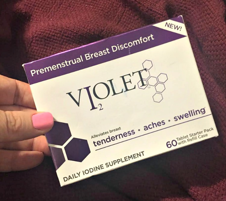 Get Violet for Breast Health #VioletDaily