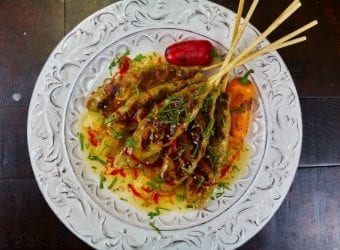 DOLE Pineapple Chicken Satay