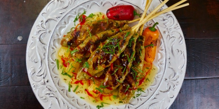 DOLE Pineapple Chicken Satay