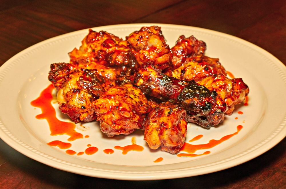 Sweet & Spicy Grilled Buffalo Chicken Wings Recipe