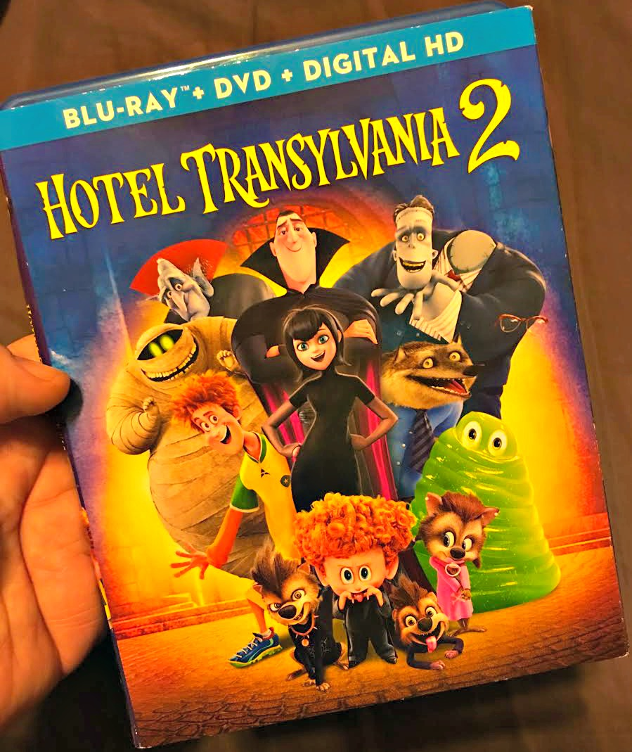 Family Fun with Hotel Transylvania 2 NOW on Blu-ray