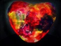 Heart Tissue Paper Nightlight 3