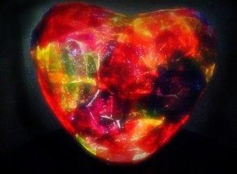 Heart Tissue Paper Nightlight 3