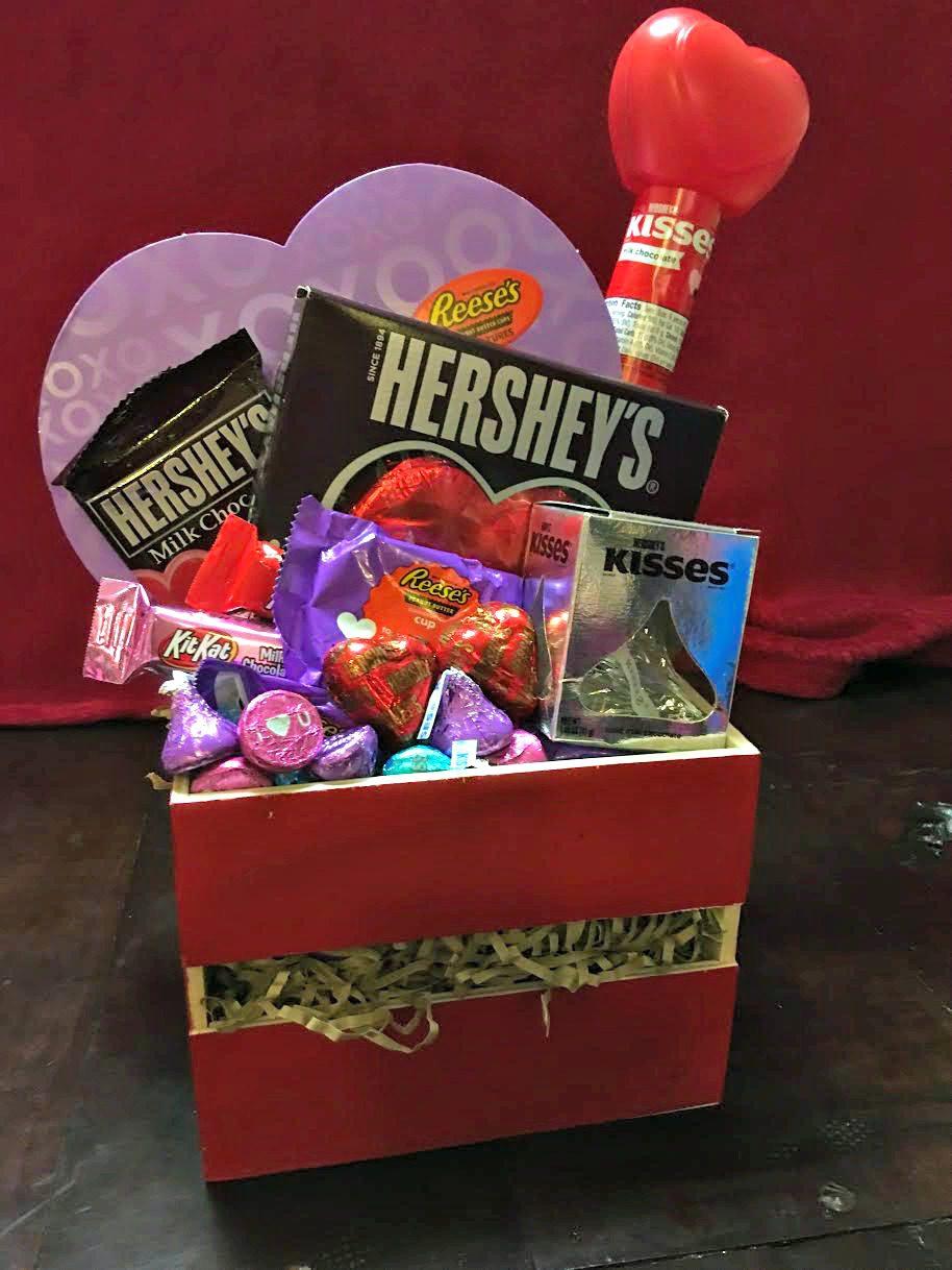 Hershey Valentine's Day Gift Basket 1