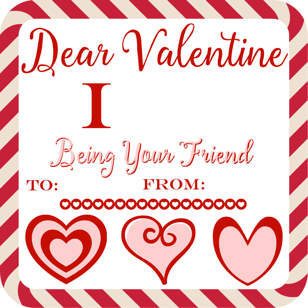 Valentine's Day Printable Card