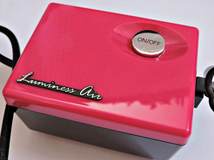 how to use luminess airbrush machine