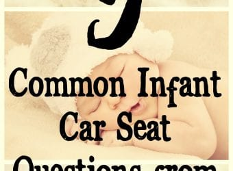 5 Common Infant Car Seat Questions from Chicco Baby