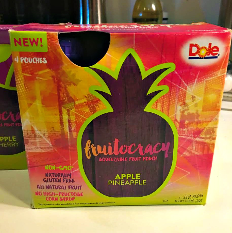 NEW Fruitocracy from Dole in Squeezable Pouches