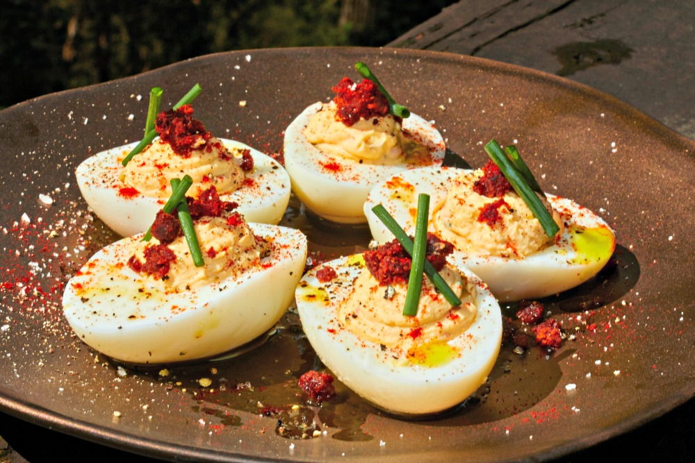 Southwestern Deviled Eggs Recipe