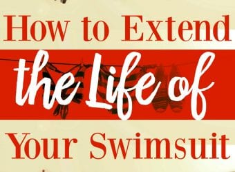 How to Extend the Life of Your Swimsuit