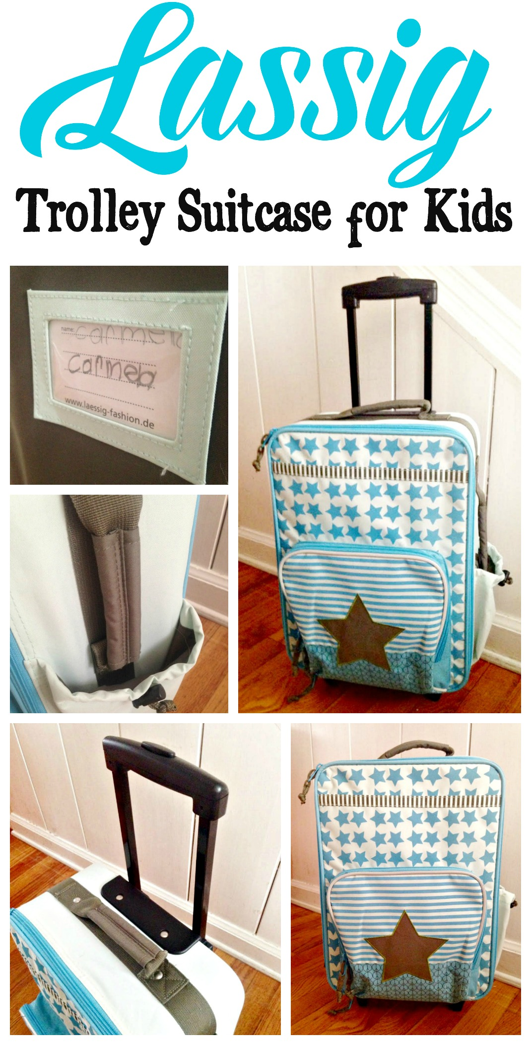 Lassig Trolley Suitcase for Kids