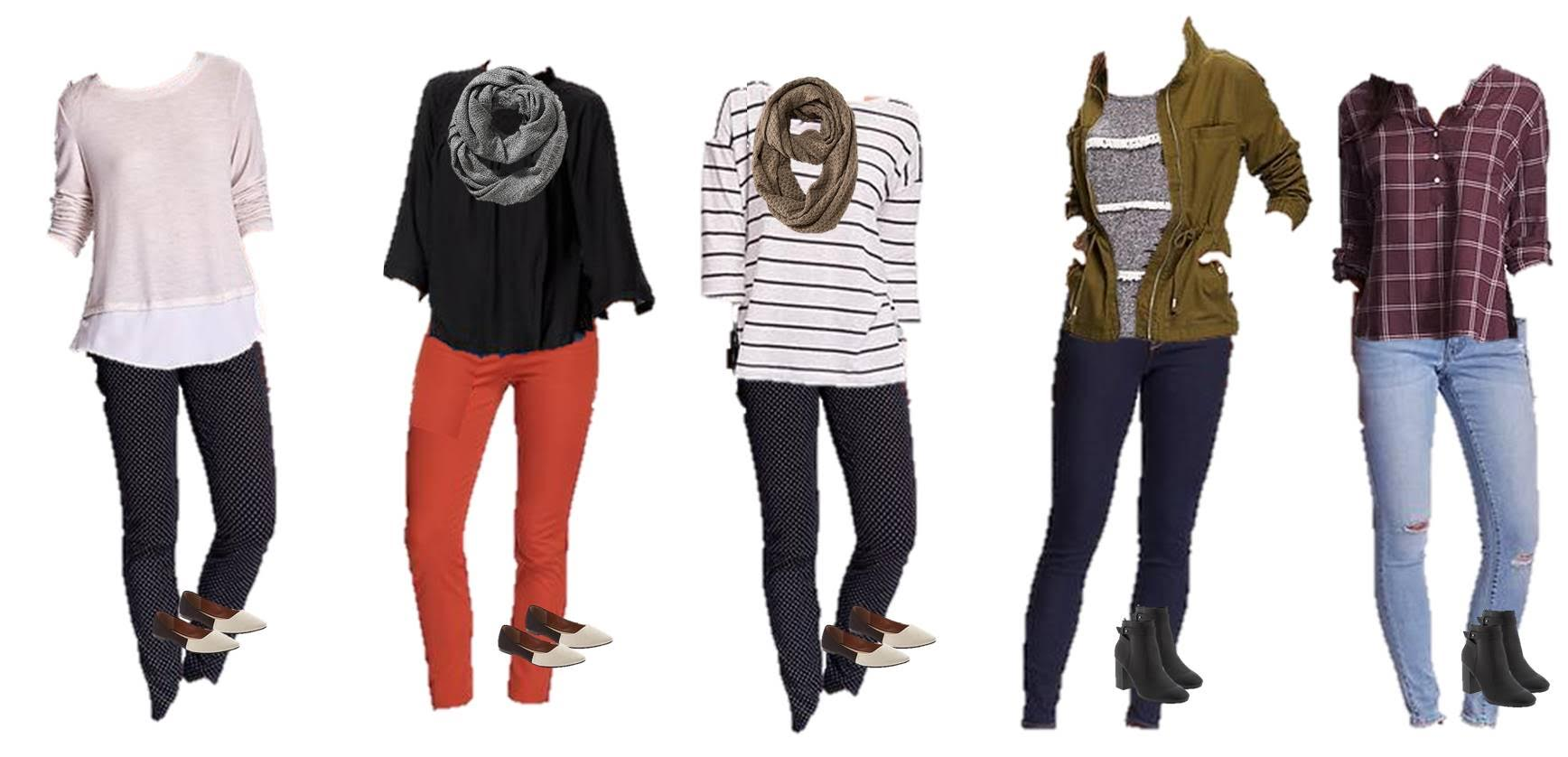 Old Navy Winter to Spring Styles