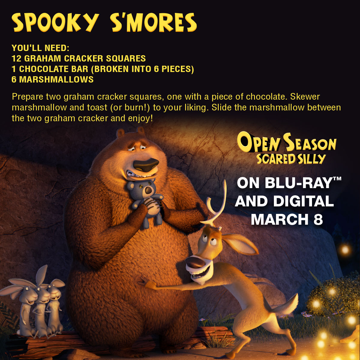 Open Season Scared Silly Spooky Smores