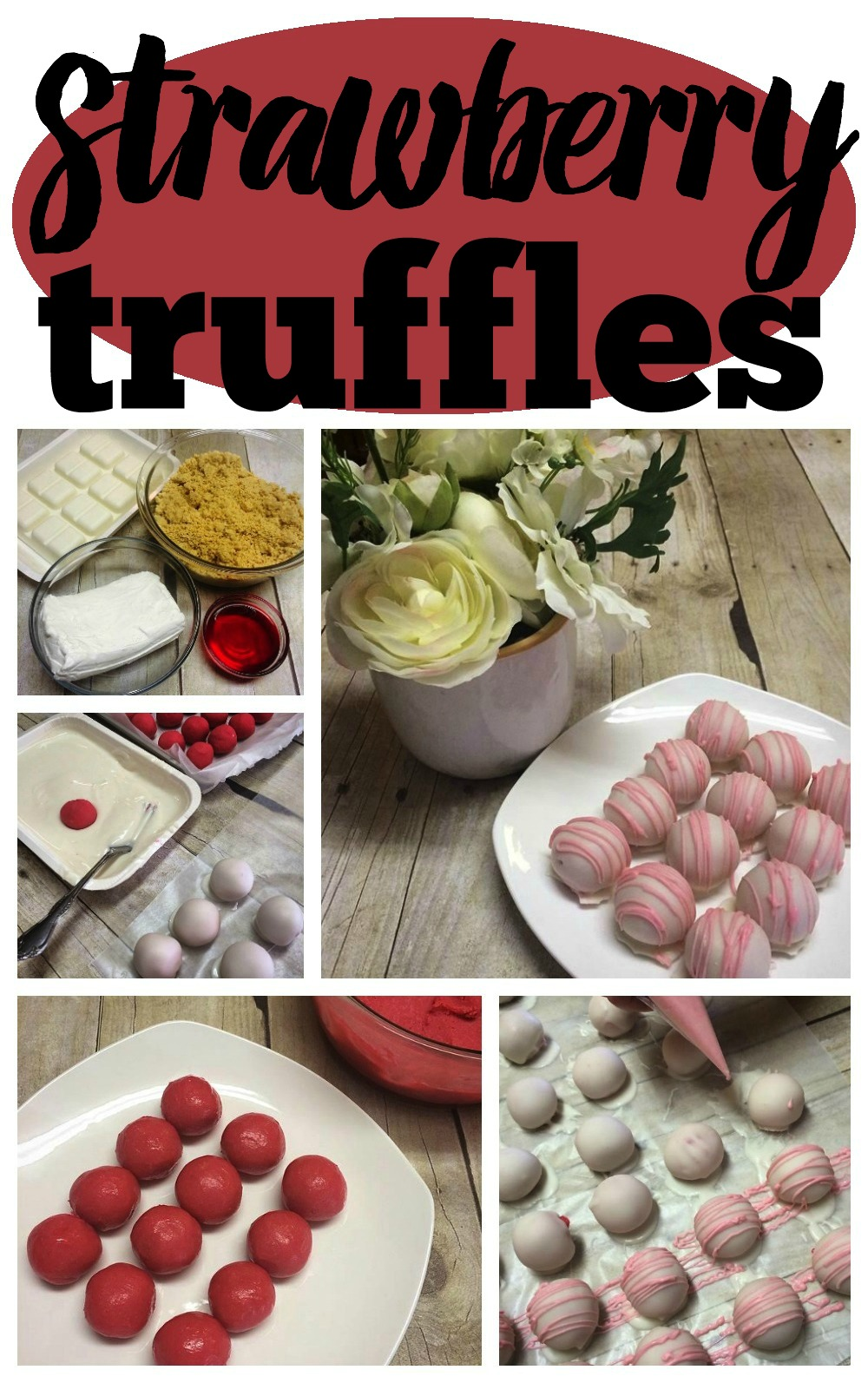 Homemade Strawberry Truffles Recipe