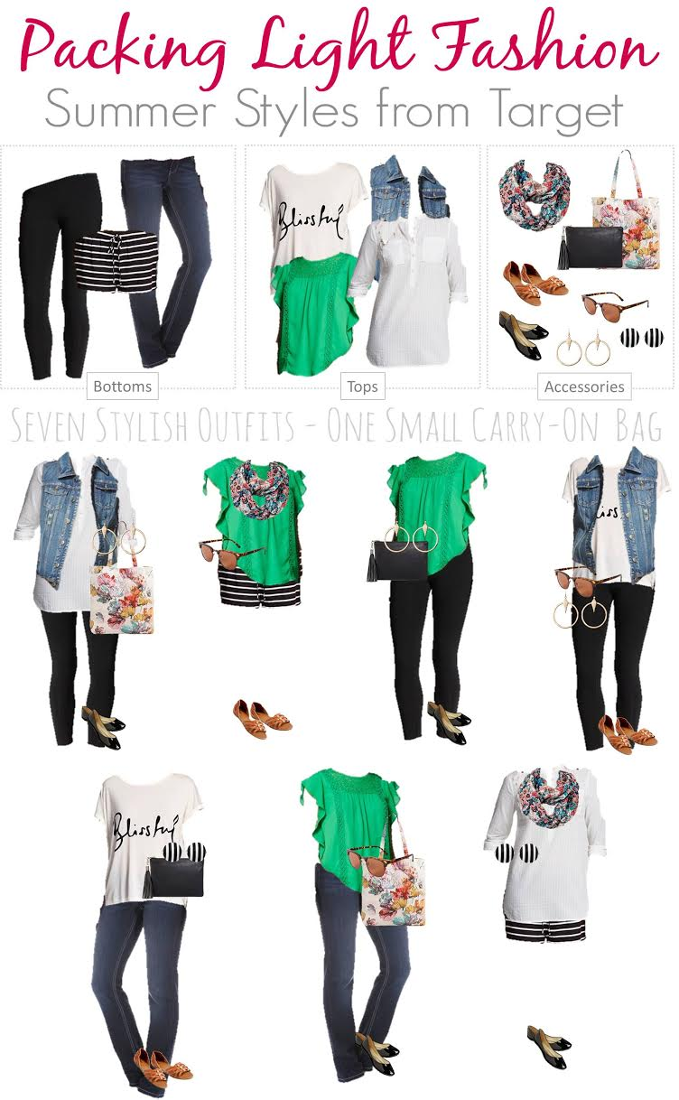 Travel Fashion Board - Target Summer Styles