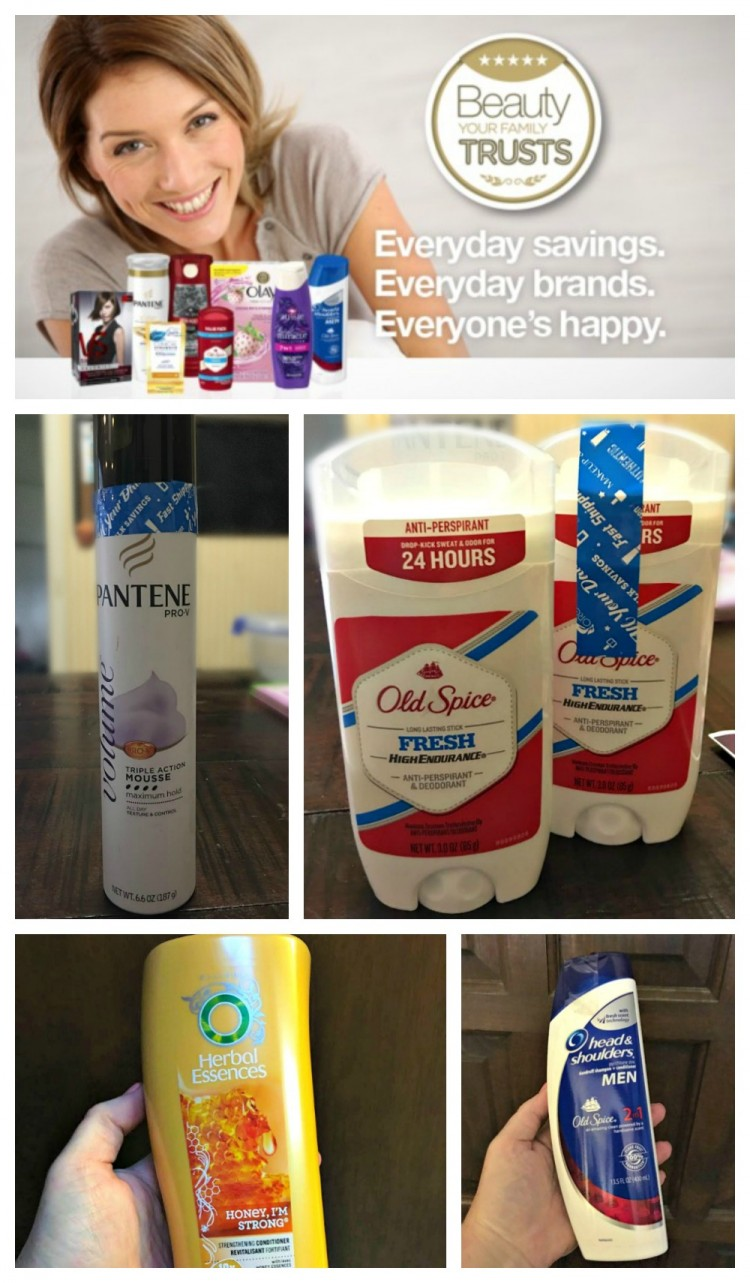 Beauty Your Family Trusts from Walmart #BeautyYourFamilyTrusts