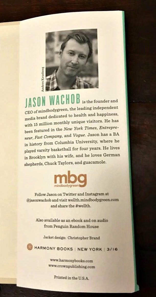 WELLTH: How I Learned to Build a Life, Not a Résumé by Jason Wachob