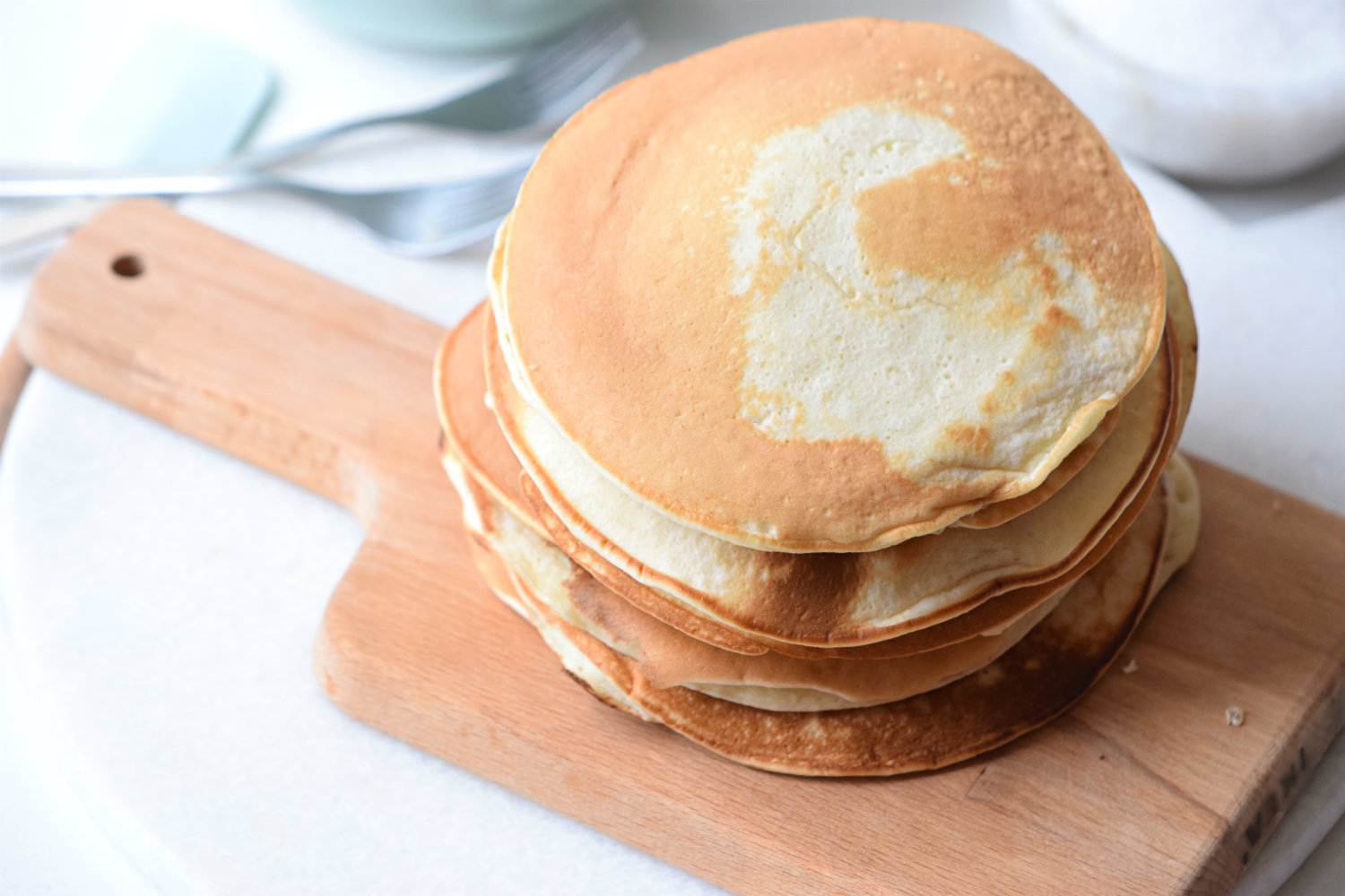 Buttermilk Pancakes with Vanilla