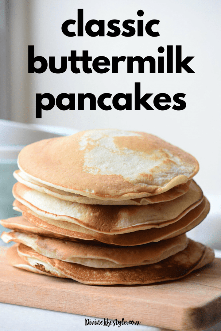 Classic Buttermilk Pancakes with Vanilla