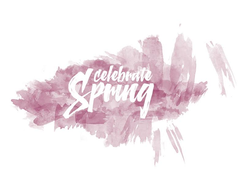 Celebrate Spring Wall Art Printable