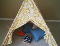 DIY Kids Teepee Tent Tutorial Final 4