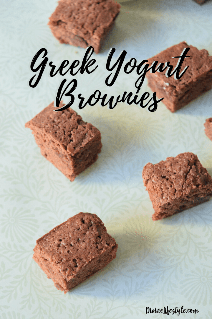 Greek Yogurt Brownies from scratch