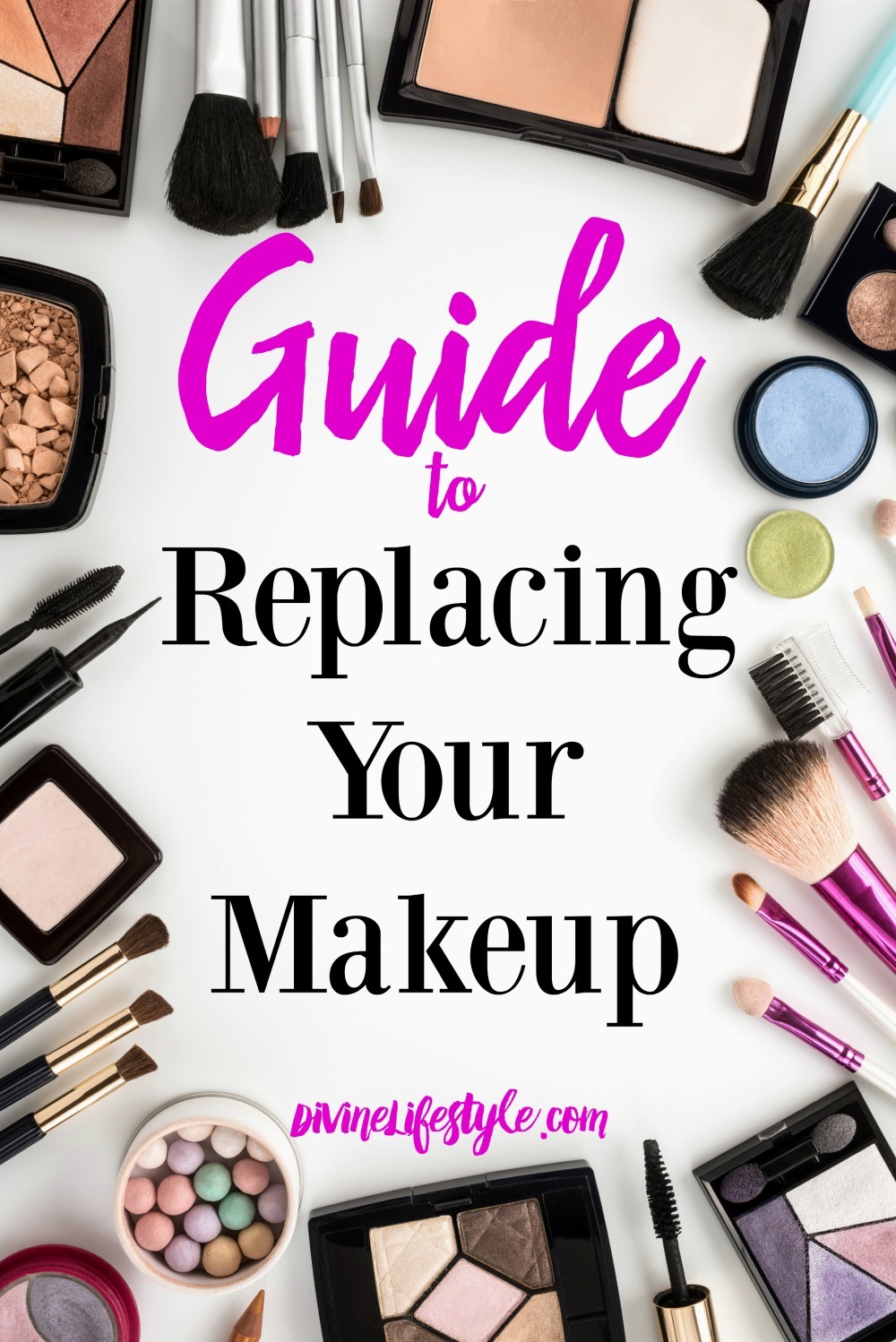 Guide to Replacing Your Makeup