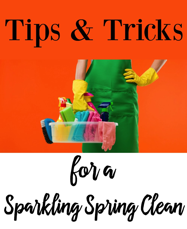 Tips & Tricks for Sparkling Spring Clean