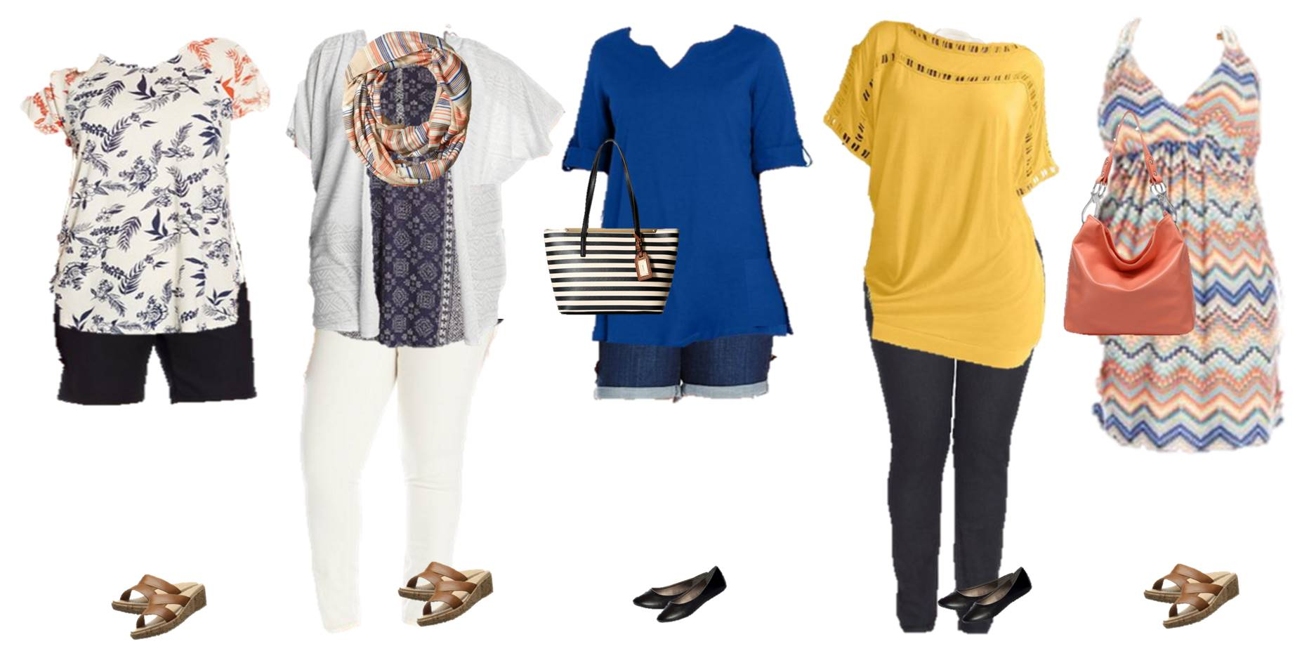 Women's Mix & Match Plus Size Summer Styles from Amazon