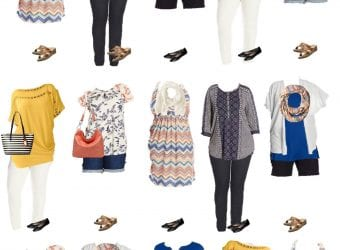 3.23 Mix and Match Fashion - Plus Size Summer Styles from Amazon VERTICAL