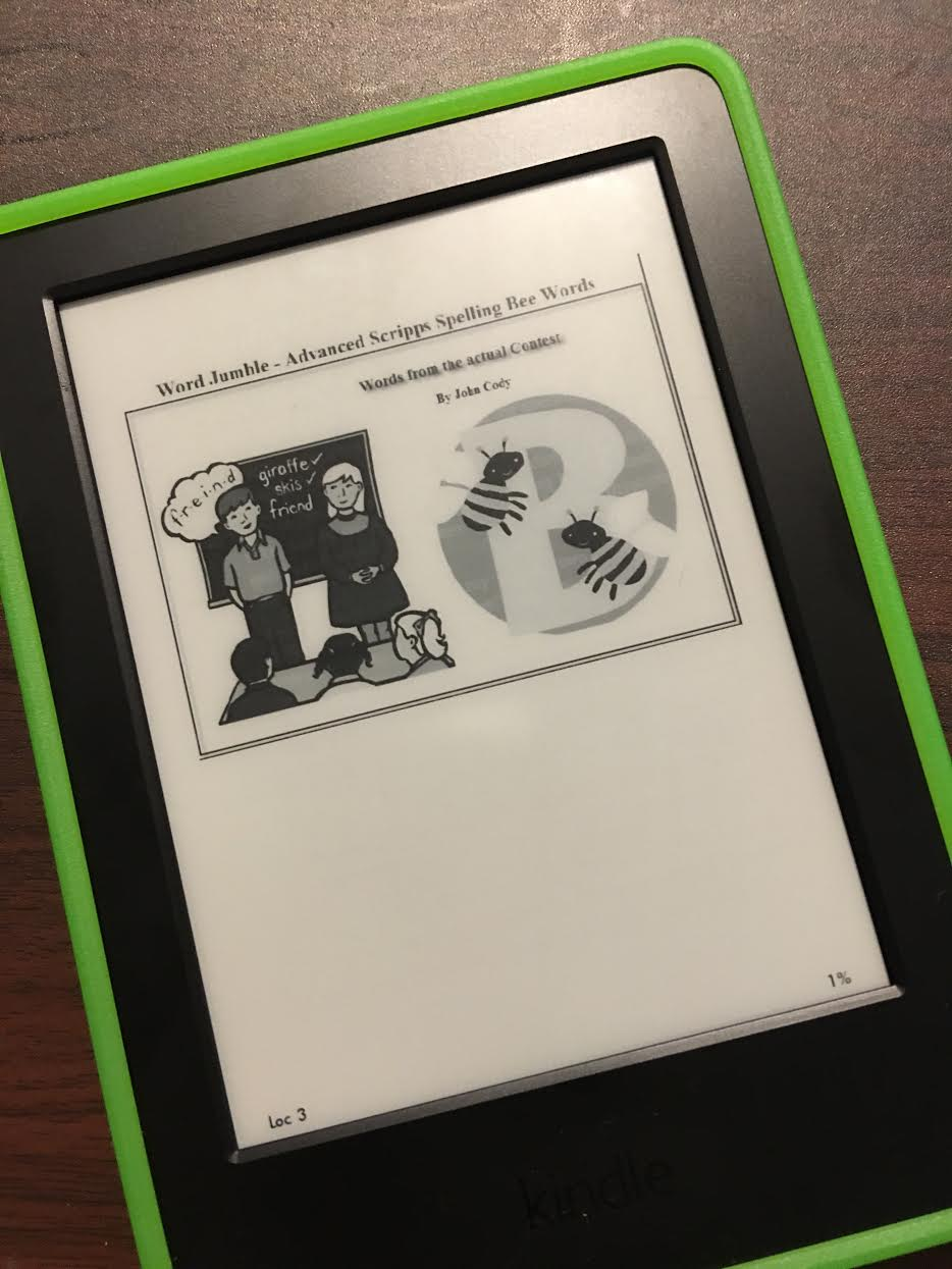 Raising Avid Readers with the Kindle & Scripps Spelling Bee