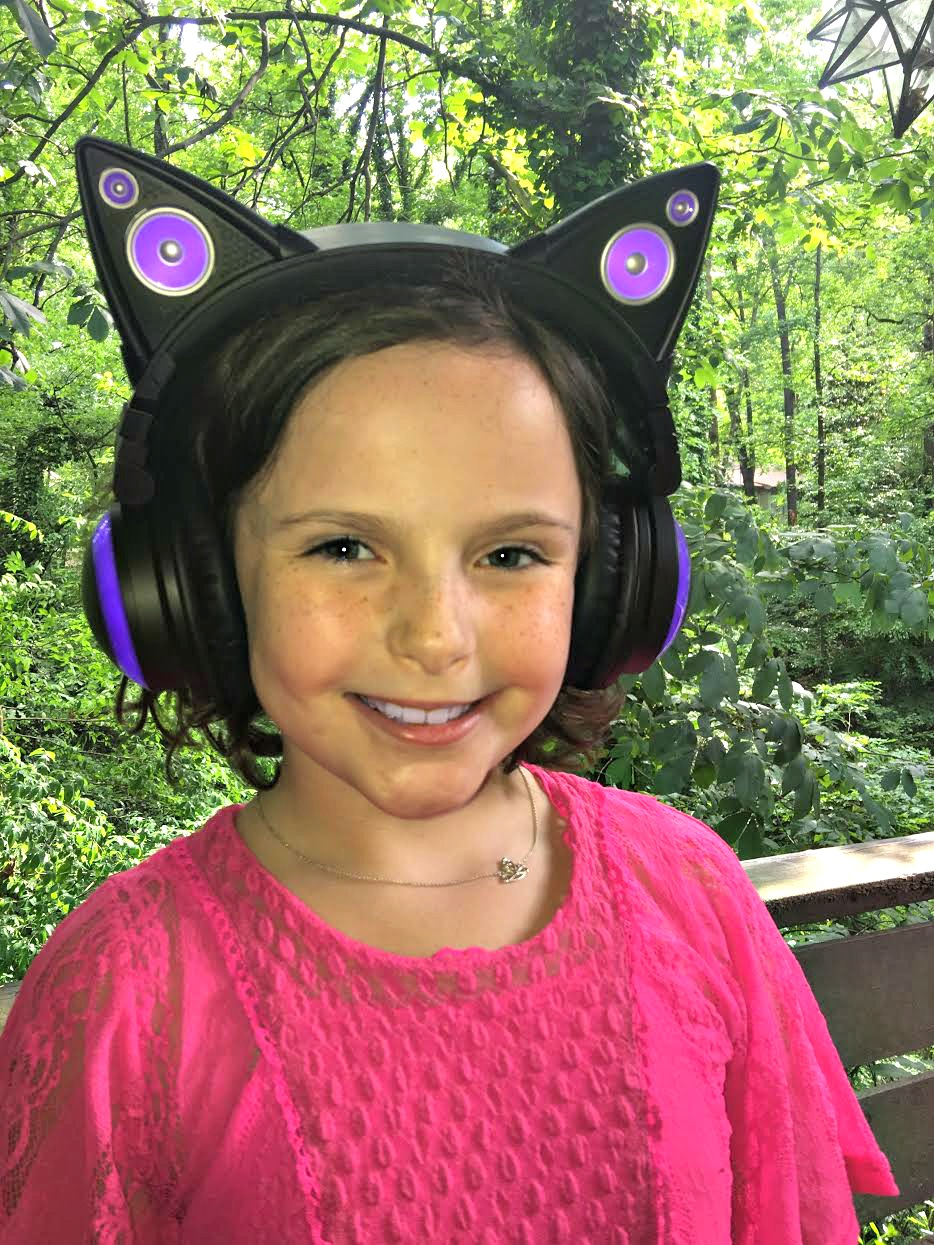 Cat Ear Headphones from Brookstone