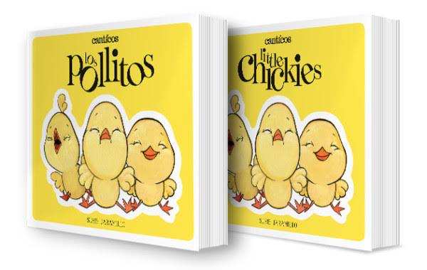 Little Chickies Los Pollitos Children's Book and App